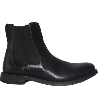 Kixters Sloan - Antique Black Leather Pull-On Boot