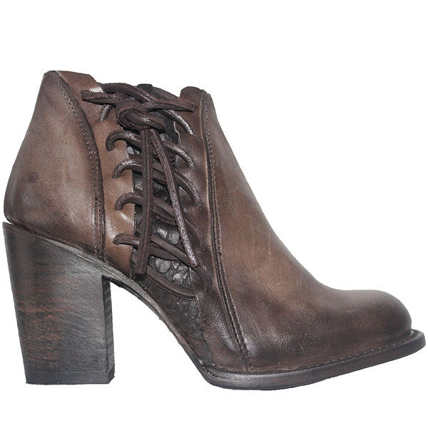 Freebird Brook - Stone Leather Short Boot