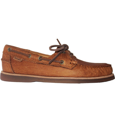 Sebago Crest Docksides - Golden Tan Horween Bison Leather Boat Shoe B720273