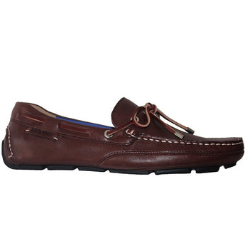 Sebago Kedge - Dark Brown Leather Driving Moc