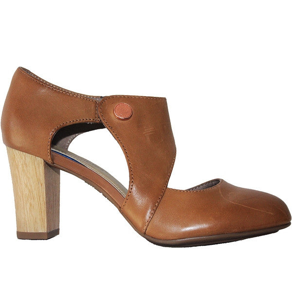 Hush Puppies Devynn Sisany - Tan Leather Pump HW05691-236