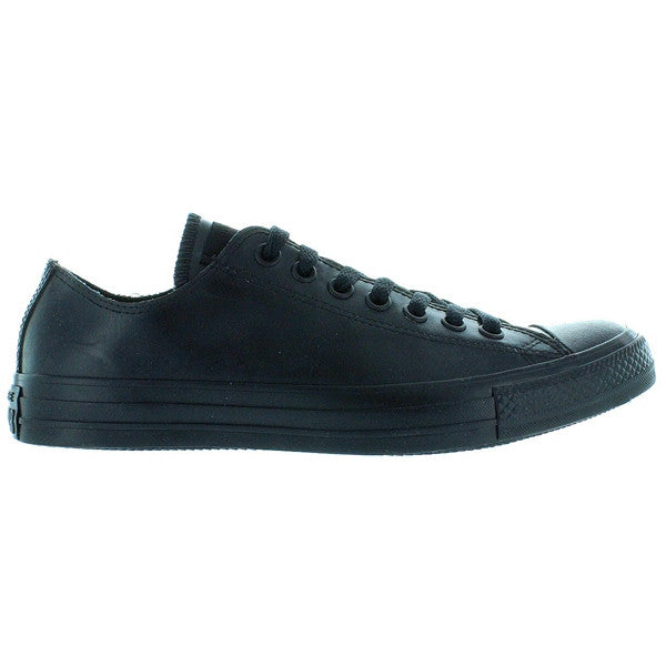 Converse All Star Rubber Chuck Ox - Black Rubber Low Top Sneaker
