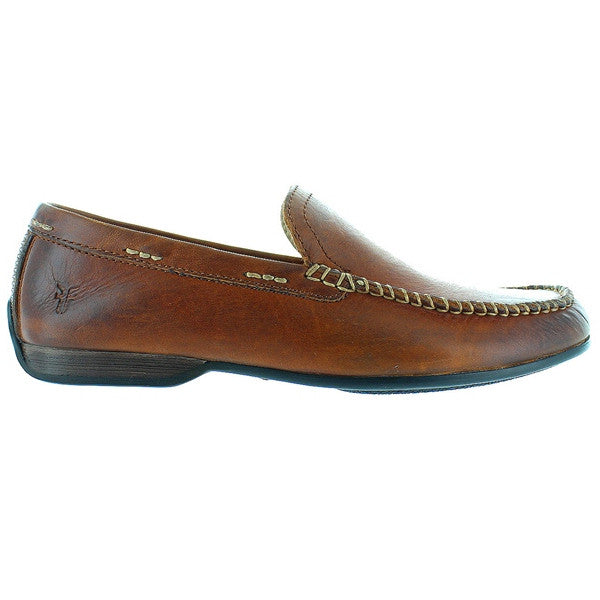 Frye Boot Lewis Venetian - Brown Leather Moccasin Loafer