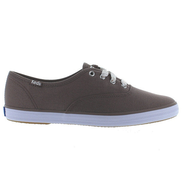 Keds Champion Ox - Deep Taupe Canvas Sneaker