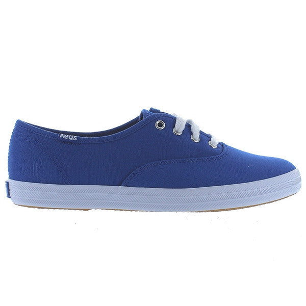 Keds Champion Ox - Blue Canvas Sneaker