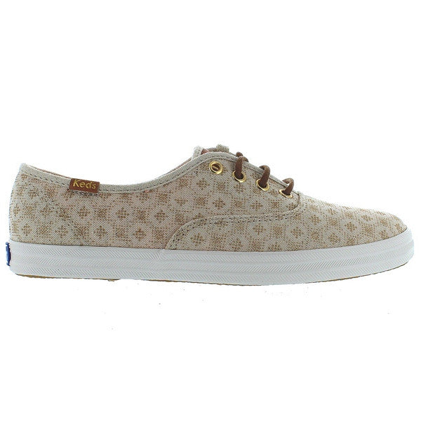 Keds Champion Ox - Dot Natural Canvas Sneaker