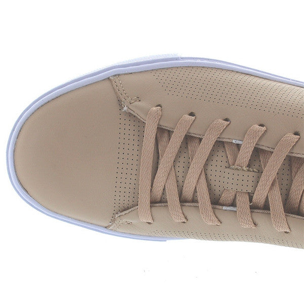 ae08b9f71f7519 Lacoste Showcourt Lace - Natural Leather Low Top Sneaker – Kixters.com