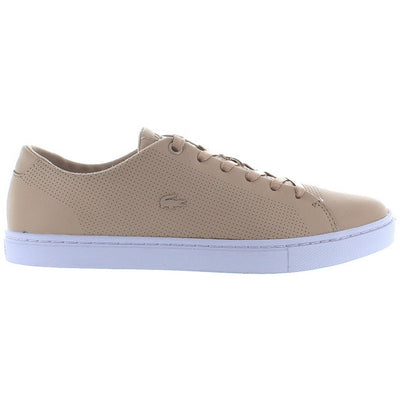 Lacoste Showcourt Lace - Natural Leather Low Top Sneaker