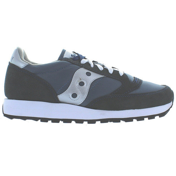 Saucony Mens Jazz Originals - Navy/Silver Suede/Nylon Sneaker