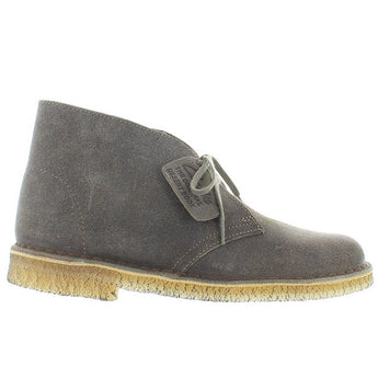 Clarks Originals Desert - Taupe Distressed Suede Comfort Classic Boot