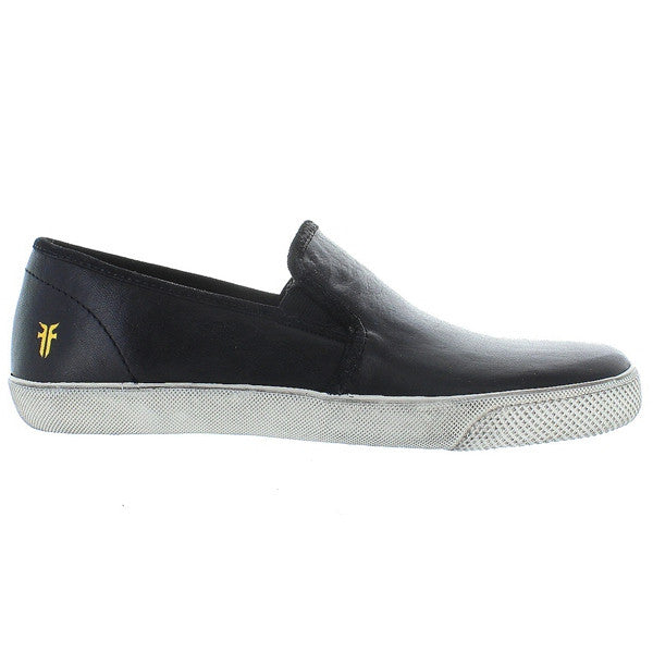 Frye Boot Chambers Gore - Black Leather Slip-On Sneaker