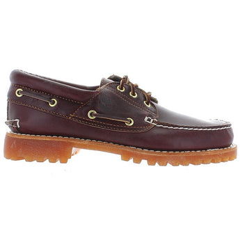 Timberland Earthkeepers Classic 3-Eye Lug - Burgundy Leather Boat Shoe