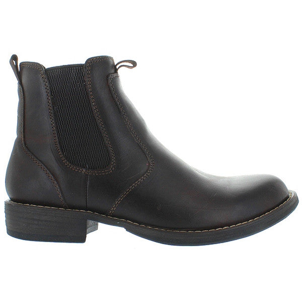 Eastland Daily Double - Dark Brown Leather Pull-On Boot