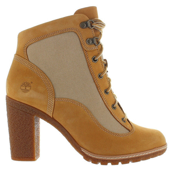 Timberland Earthkeepers Glancy - Wheat/Tan Nubuck High Heel Boot