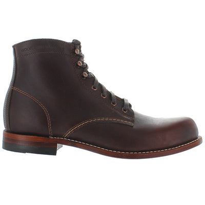 "Wolverine 6"" 1000 Mile - Brown Leather Lace-Up Boot"