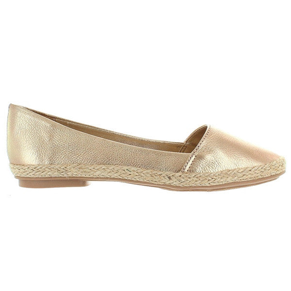 Chelsea Crew Blake - Gold Slip-On Flat
