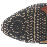 Restricted Glory - Black/Tan Printed Textile Flat