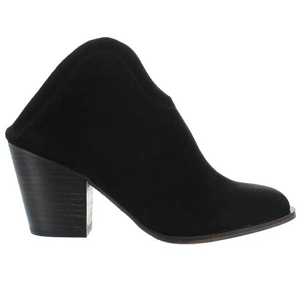 Chinese Laundry Kelso - Black Suede Slip-On Bootie