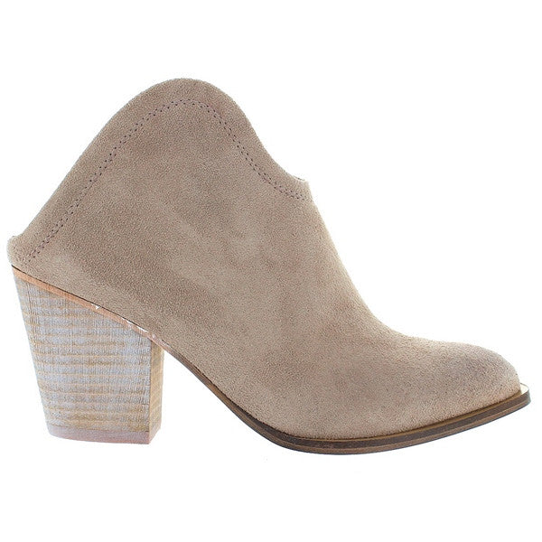 Chinese Laundry Kelso - Grey Suede Slip-On Bootie