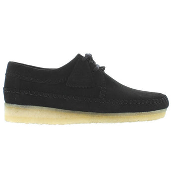 Clarks Originals Desert Weaver - Black Suede Desert Wallabee