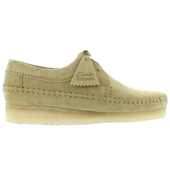 Clarks Originals Desert Weaver - Maple Suede Desert Wallabee