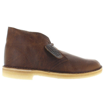 Clarks Originals Desert Boot - Amber Gold Leather Desert Boot
