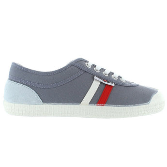 Backyard Retro Tivoli Cox - Grey Canvas Stripe Sneaker