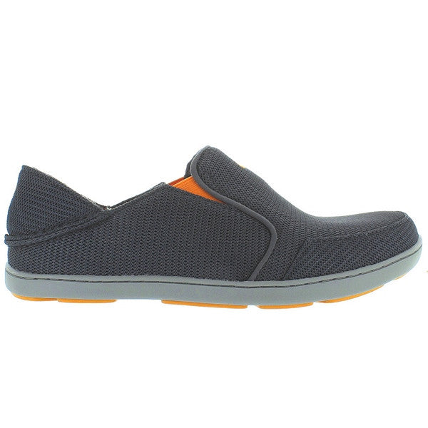 OluKai Nohea Mesh - Dark Shadow/Dark Shadow Mesh Athleisure Slip-On Moc