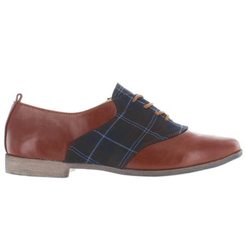 Restricted Best Move - Whiskey/Plaid Oxford