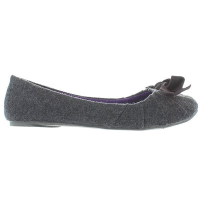 Blowfish Scoodle - Grey Flannel Slip-On Flat