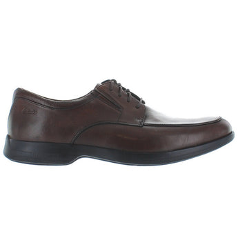 Clarks General Pace - Brown Leather Oxford