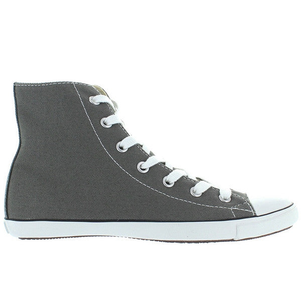 Converse All-Star Chuck Taylor Lite Hi - Charcoal Canvas Slim High Top Sneaker