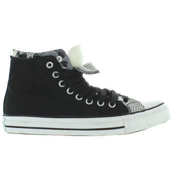 Converse All-Star Chuck Taylor 2X Upper Hi - Black/White Canvas Double Upper High Top Sneaker