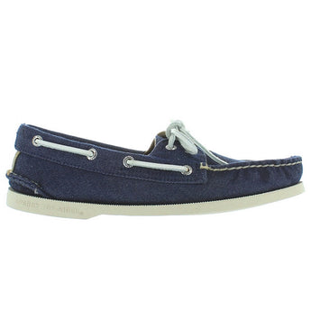 Sperry Top-Sider A/O 2-Eye - Navy Canvas Boat Shoe