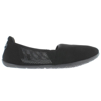 NoSox Meshpadrille - Black/Grey Nylon Mesh Athleisure Slip-On