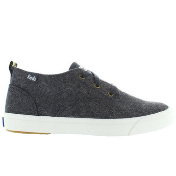 Keds Triumph Mid - Graphite Wool Lace-Up Sneaker