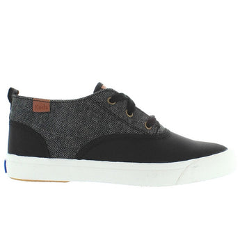 Keds Triumph Mid - Steel Nylon/Dark Grey Tweed Lace-Up Sneaker
