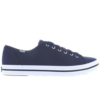 Keds Kickstart - Navy Canvas Lace-Up Sneaker