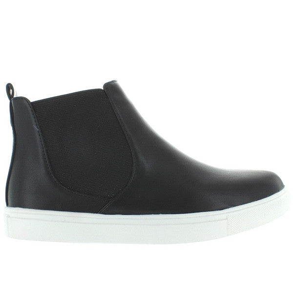 Wanted Doppio - Black Dual Gore Pull-on High Top Sneaker