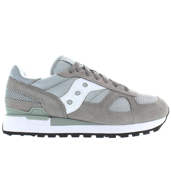 Saucony Shadow Original - Grey/White Suede/Nylon Sneaker