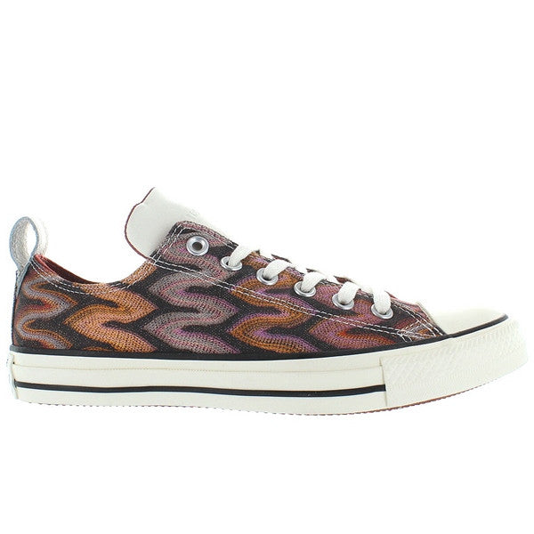 Converse All-Star Chuck Taylor Missoni - Auburn/Egret Printed Canvas Low Top Sneaker