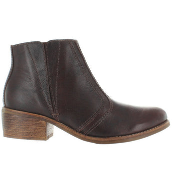 Matisse Fury - Brown Leather Pull-On Bootie
