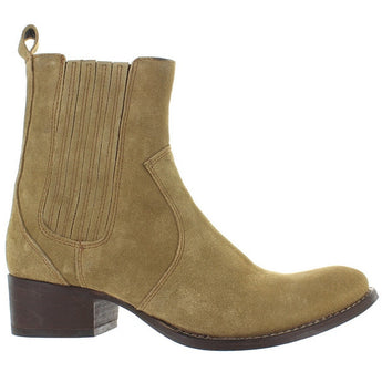 Matisse Easy Street - Tan Suede Pull-On Boot