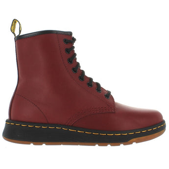Dr. Martens Newton - Cherry Leather Combat Bootie