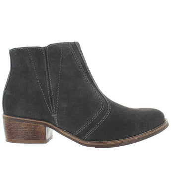 Matisse Fury - Charcoal Suede Pull-On Bootie
