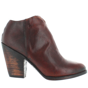 Freebird Detroit - Cognac Leather Western Bootie