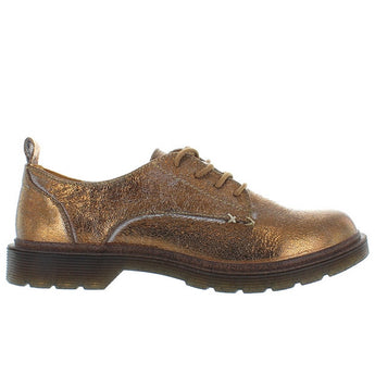 Coolway Claire - Crackled Bronze Lug Sole Oxford