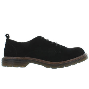 Coolway Claire - Black Velvet Lug Sole Oxford