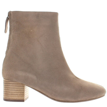 Seychelles Imaginary - Taupe Suede Back Zip Boot