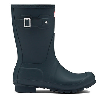 Hunter Original Short - Matte Ocean Calf-High Rain Boot